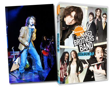 Naked brothers band rock this town