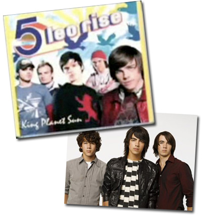 Before there was Connect 3 (Jonas Brothers), there was 5 Leo Rise (The Click