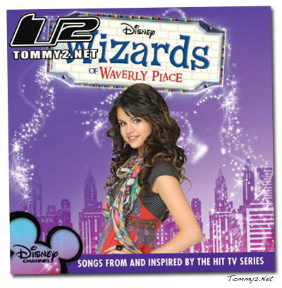 The track list and cover art for the Wizards of Waverly Place Sountrack,