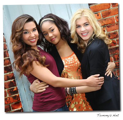 Gabrielle, and Mariah visited Sophisticate's Hairstyle Guide offices for