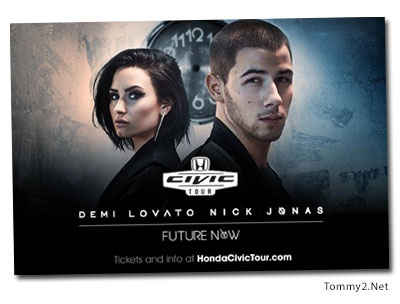 Tommy2 megan smith says its gonna be okay justin bieber demi lovato and nick jonas just scored major funding for their upcoming tour that has been renamed the honda civic tour future now m4hsunfo