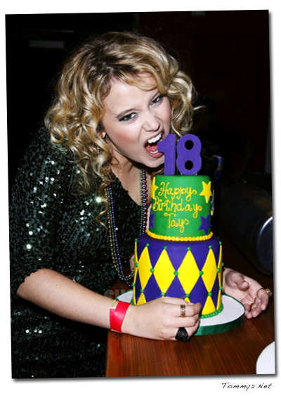 Outstanding Tommy2 Net Taylor Spreitler Kind Of Celebrates 18 New Releases Funny Birthday Cards Online Inifodamsfinfo