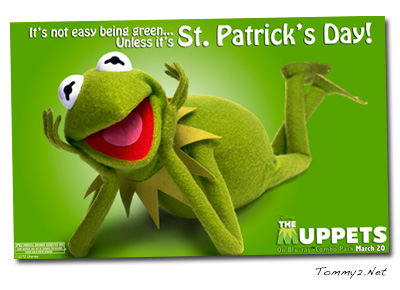Tommy2 Net It S Not Easy Being Green Happy St Patrick S