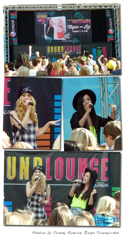 Tommy2 net Megan and Liz visit Mall of America, Paramore to