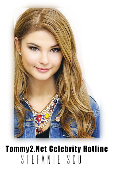 Tommy2 Net Stefanie Scott Leaves A Message New Releases